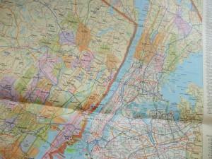 マンハッタンから、ブロンクスを更に北上すると、古く伝統的なゴルフ場と、多く出会える。ノルウッドCCは、その中の一つ(State Farm Road Atlasから)