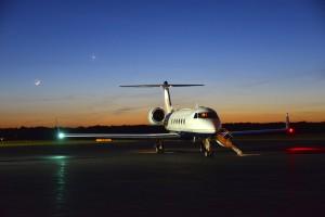 これがニクラスの、地球駆け巡りを可能にする、自家用ジェット機Air Bear