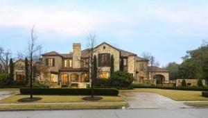 お城のような大きさを誇る、42歳レナードの豪邸。其れでもここ数年の成績の下降を受け、19億円余でfor saleにした(coutesy of PGATour.com)