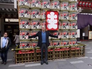 年末東京でテレビ番組制作。その合間に歌舞伎も楽しんだルディ