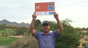 人生二度目の金脈を、一番で掘り当てた、日本ツアー育ちの米人プロ、ブラント・ジョーブ。ボギーを叩かないウイリー・ウッドとともに、活躍が期待される(courtesy of PGA TOUR.com)