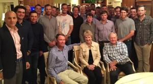 ゴルフ界の歴史、人脈そして知性までが、見事に詰め込まれたニクラスの頭脳。この夜の話の中味と、出た質問。興味は尽きない(courtesy of pgatour.com)